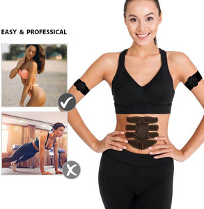 Re-Chargeable Ab Stimulator And EMS Muscle Trainer