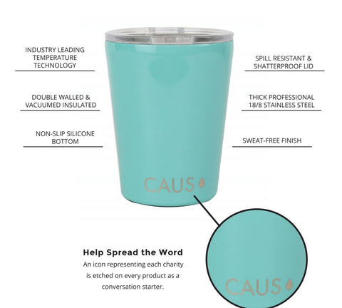 CAUS - Insulated Stainless Steel Drinkware