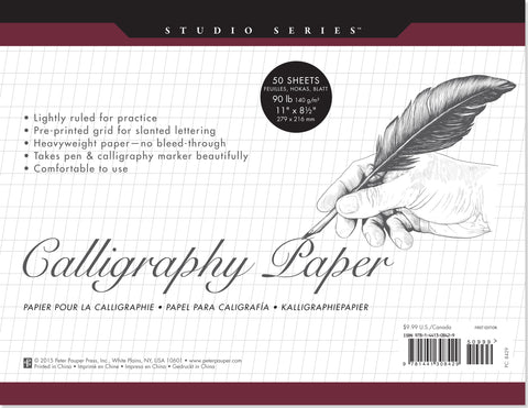 Peter Pauper Press Studio Series Calligraphy Paper