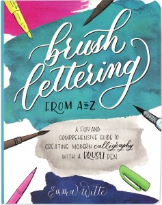 Peter Pauper Press Brush Lettering A to Z