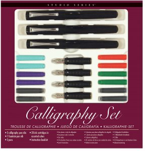 Peter Pauper Press Calligraphy Set