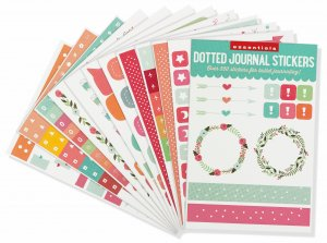 Peter Pauper Press Dotted Journal Stickers