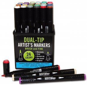 Peter Pauper Press Dual Tip Markers