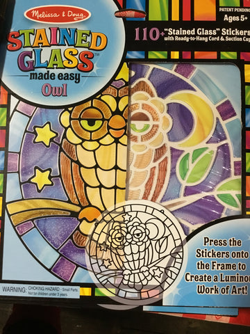 Stained Glass-Owl