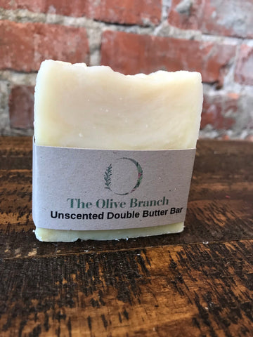 Unscented Double Butter Bar