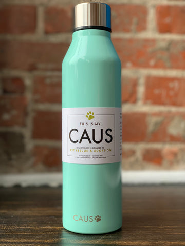 CAUS Stainless Bottle Mint, CAUS - The Olive Branch