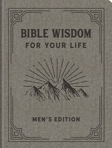 Barbour Publishing Bible Wisdom For Your Life Men's Edition