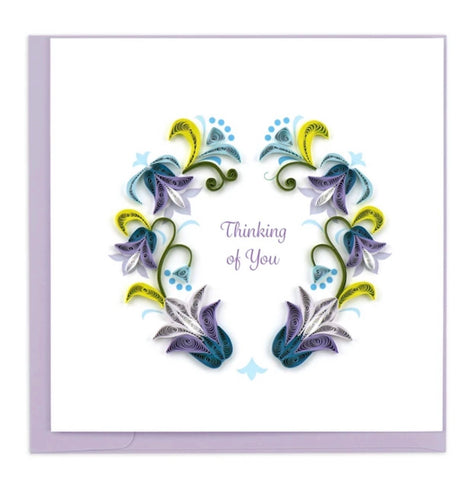 Quilling Card Thinking Of You