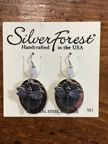 Silver Forest Earrings 8927