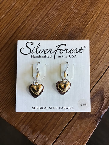 Silver Forest Earrings 23117