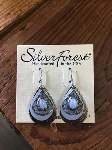 Silver Forest Earrings 22112