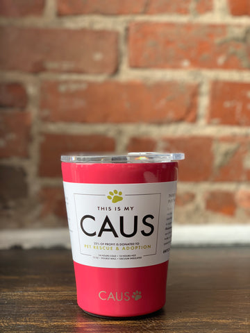CAUS Stainless Coffee Tumbler Coral, CAUS - The Olive Branch