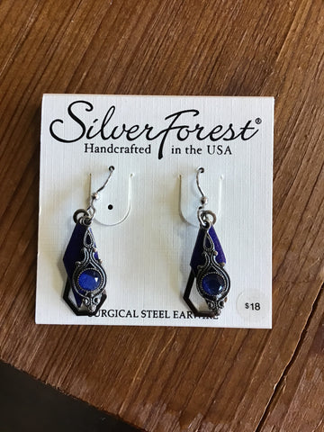 Silver Forest Earrings 22793