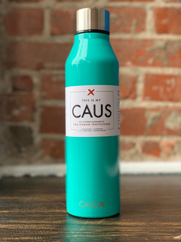 CAUS Stainless Bottle Teal, CAUS - The Olive Branch