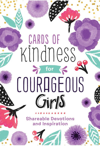 Barbour Publishing Cards Of Kindness For Courageous Girls