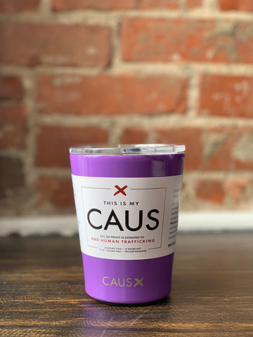 CAUS Stainless Coffee Tumbler Lavender, CAUS - The Olive Branch