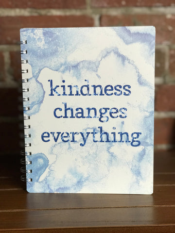 Primitives Spiral Notebook Kindness