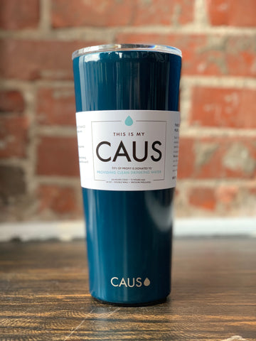 CAUS Large Tumbler Navy, CAUS - The Olive Branch