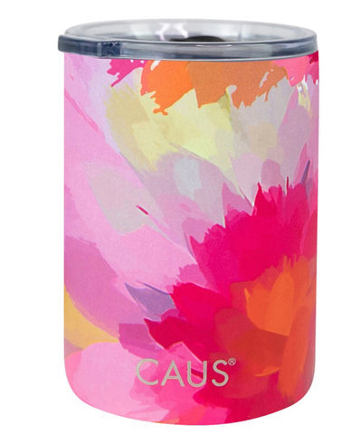 CAUS Can Cooler Watercolor Flower
