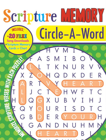 Barbour Scripture Memory Circle-A-Word