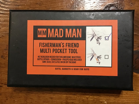 Mad Man Fisherman's Friend Multi Pocket Tool