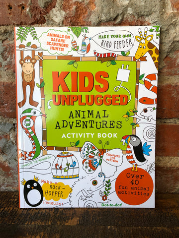 Peter Pauper Press Kids Unplugged- Animal Adventures Activity Book