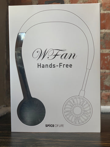 Wearable Hands Free Fan-Black