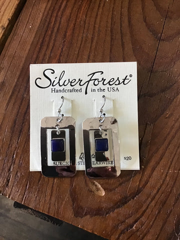 Silver Forest Earrings 23079
