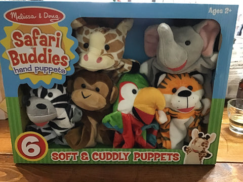 Melissa & Doug Safari Buddies Puppets