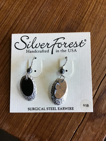 Silver Forest Earrings 21297