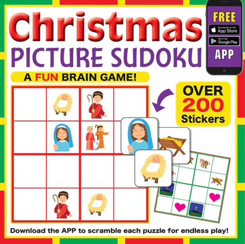 Barbour Publishing Christmas Picture Sudoku