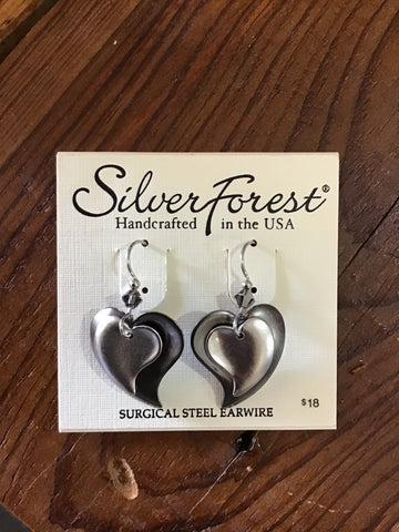 Silver Forest Earrings 23349