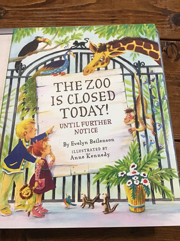 Peter Pauper Press The Zoo Is Closed Today Book