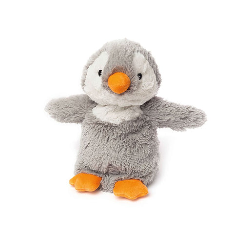 Warmies Cozy Plush Gray Penguin