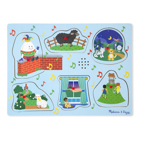 Melissa & Doug Sound Puzzle-Sing Along Nursery Rhymes