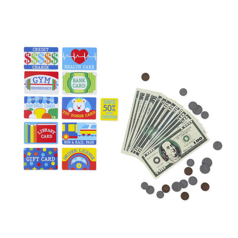 Melissa & Doug Pretend- to-Spend Wallet