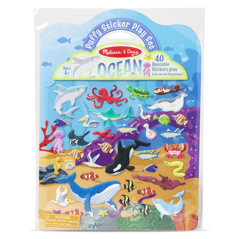 Melissa & Doug Puffy Sticker Ocean