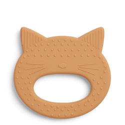 Anneau de dentition - Chat Moutarde