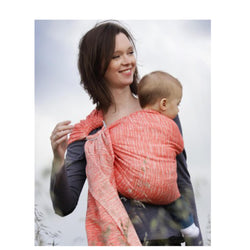Porte-bébé Sling – jungle anémone