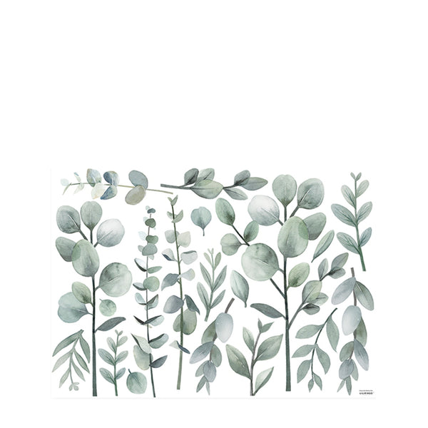 Stickers tiges et feuillages eucalyptus - L