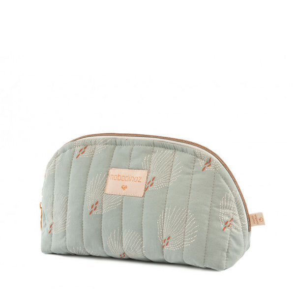 Trousse de toilette Holiday - White gatsby antique green