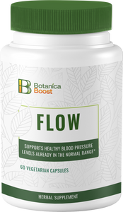 Botanica Boost Flow Herbal Supplement Supports Healthy Blood Pressure Levels (60 Capsules)