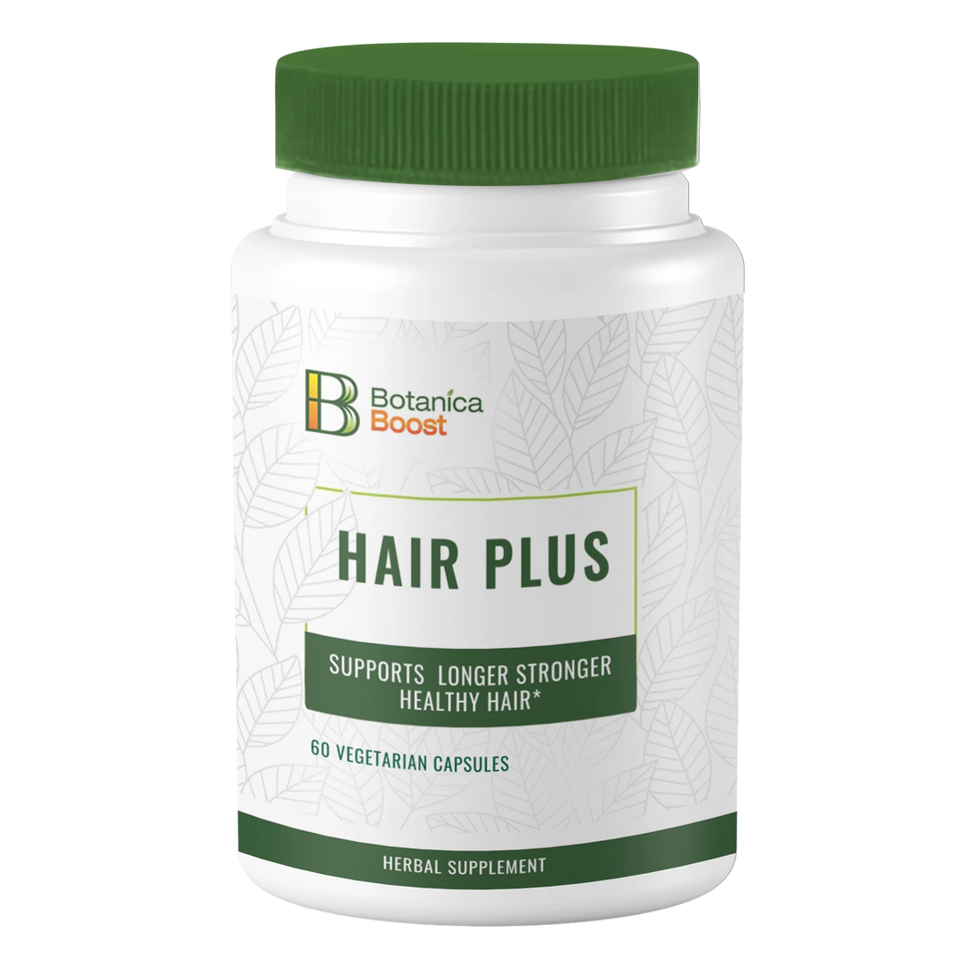 Botanica Boost Hair Plus Herbal Supplement (60 Capsules)