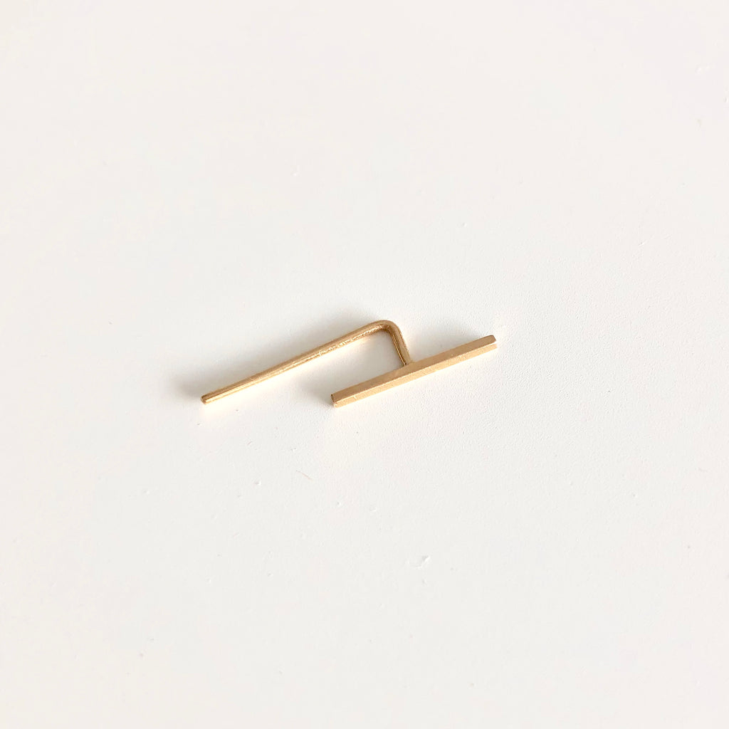 Bar Ear Hook - Med - 0.5""