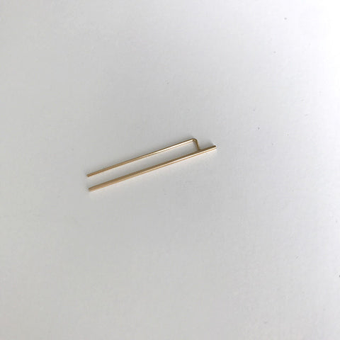 Bar Ear Pin - Large