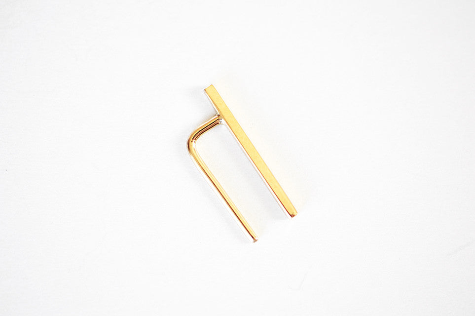 Bar Ear Pin - Small