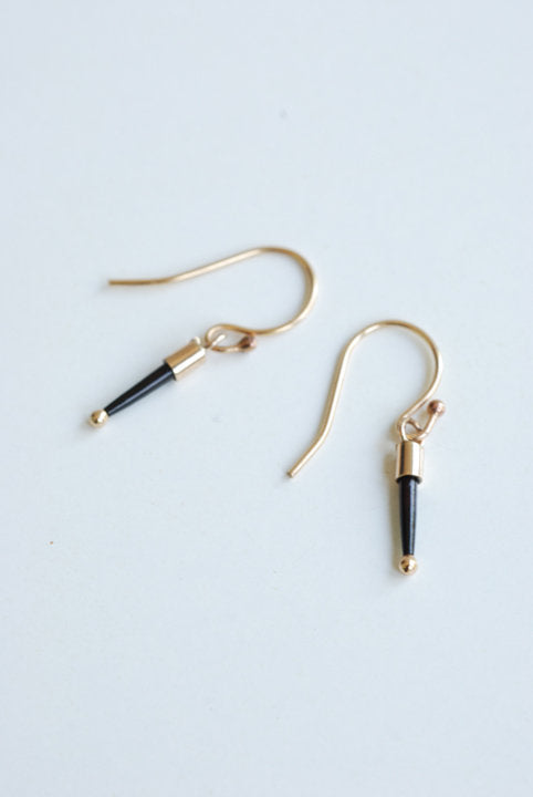 Baby Quill Earrings - Gold