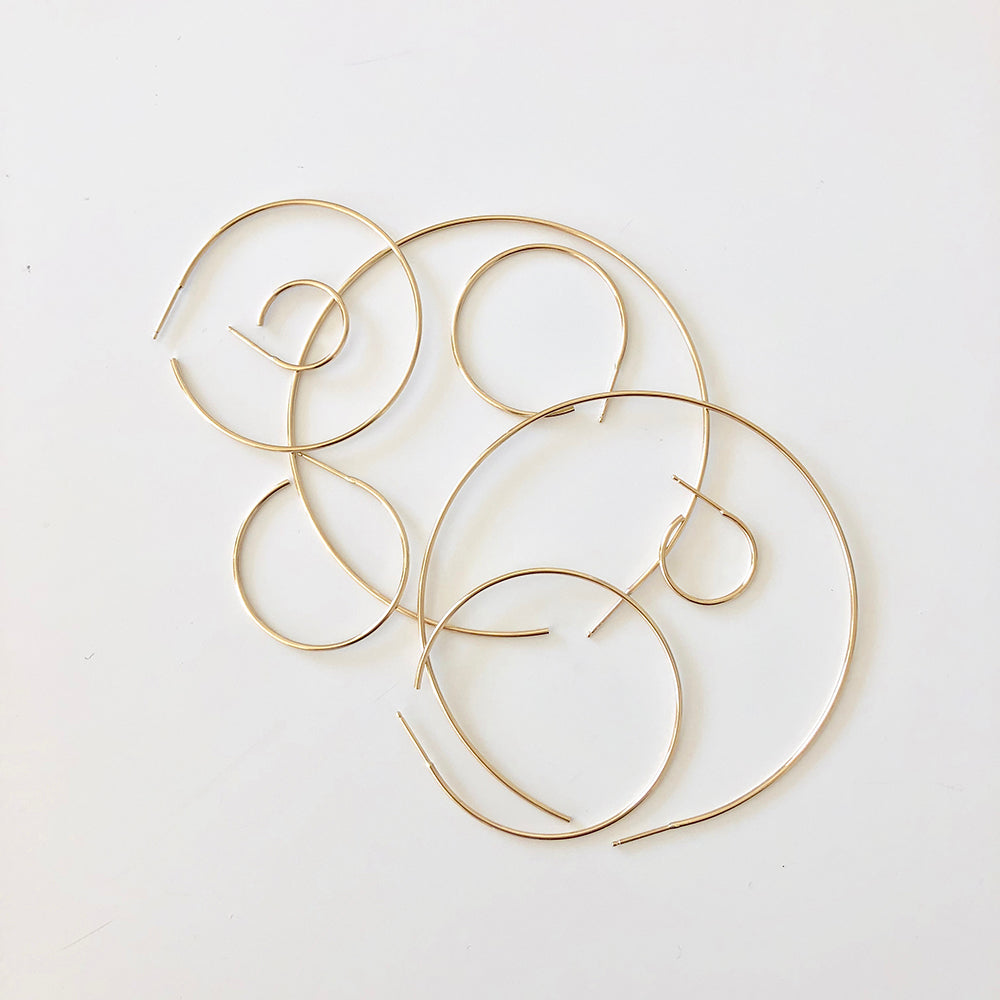 Thread Arc Hoops - In Stock