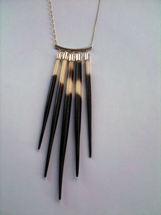 Five Quill Necklace