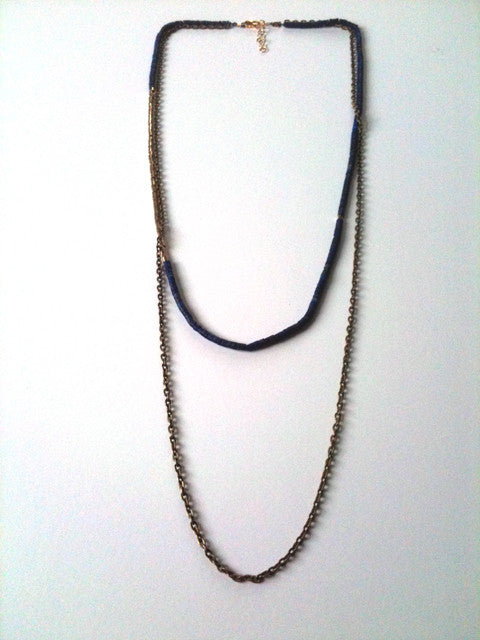 Venus and Chain Necklace